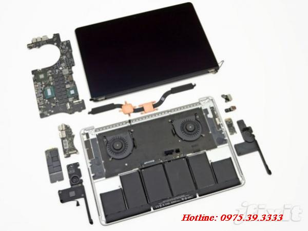 Sửa chữa laptop Apple Macbook Aluminum unibody MB466ZP