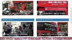 Bảo hành sửa chữa laptop HP Elitebook 8540w, 8560p, 8560W, 8570p lỗi chạy chậm