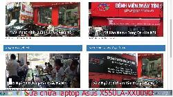 Trung tâm sửa chữa laptop Asus X550LA-XX009D, X550LA-XX010D, X550LB-XX010D, X550LB-XX160D lỗi nhiễu hình