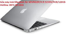 Sửa máy tính Macbook Air MJVM2ZP/A i5 5250U/4GB/128GB
