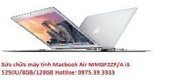 Sửa chữa máy tính Macbook Air MMGF2ZP/A i5 5250U/8GB/128GB