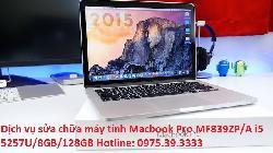 Dịch vụ sửa chữa máy tính Macbook Pro MF839ZP/A i5 5257U/8GB/128GB